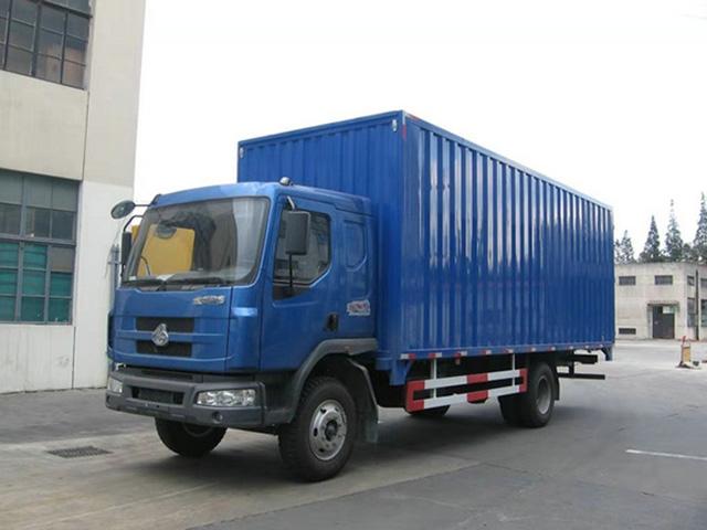 6.8米箱式回程车